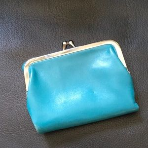 Blue French Style Wallet